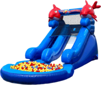 Ball Pit Lil Kahuna Slides (Dry Only)