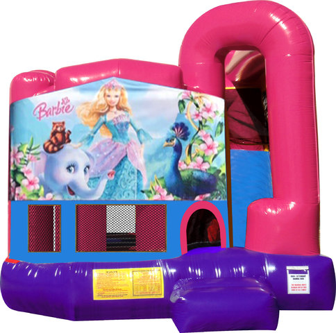 Barbie 4N1 Fun Jump Combo (Pink)