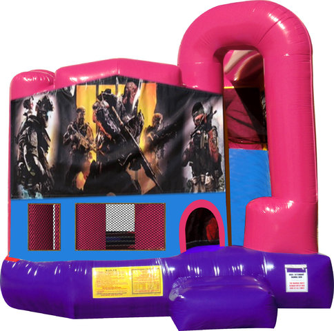 Call of Duty 4N1 Bounce House Combo (Pink)