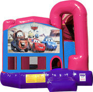 Cars 4N1 Bounce House Combo (Pink)