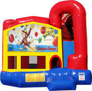 Curious George 4N1 Inflatable Combo