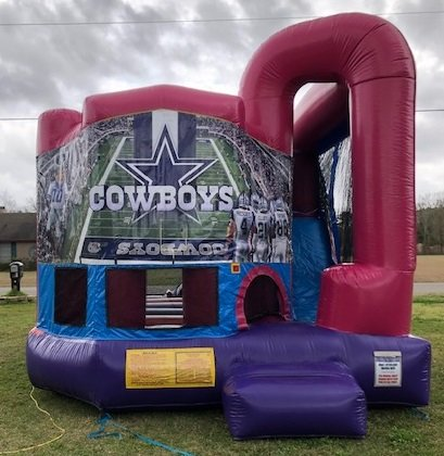 Dallas Cowboys 4N1 Bounce House Combo (Pink)