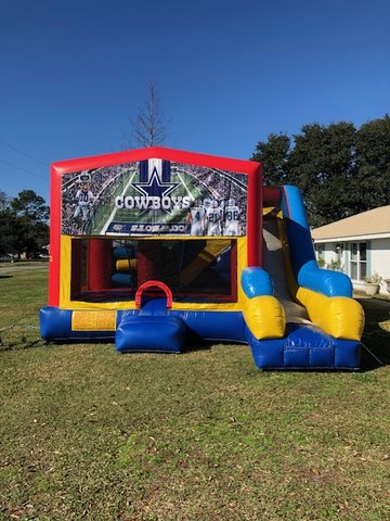 Dallas Cowboys 7N1 Inflatable Combo Fun Jump