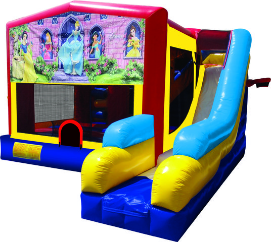 Disney Princess 7N1 Bounce & Slide Combo