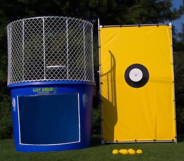 A 500 Gallon Deluxe Dunk Tank