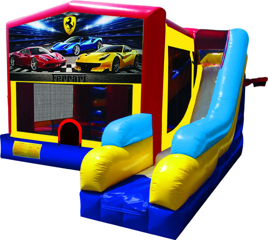 Ferrari 7N1 Inflatable Combo Fun Jump