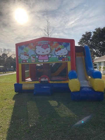 Hello Kitty 7N1 Inflatable Combo Fun Jump