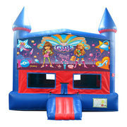 It's A Girl Thing Bounce House with Basketball Goal