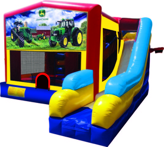 John Deere 7N1 Inflatable Combo Fun Jump