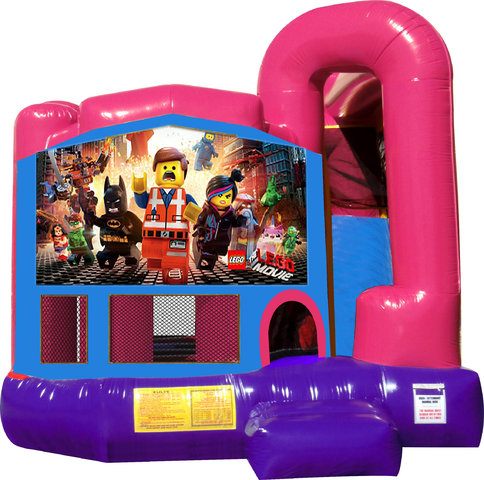 Legos 4N1 Bounce House Combo (Pink)