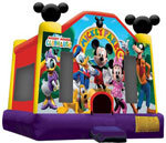 A Mickey Mouse Inflatable Fun Jump