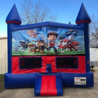 Paw Patrol Bounce House w/ Basketball Goal
