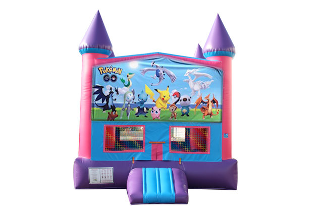 Pokemon Fun Jump With Basketball Goal (Pink)