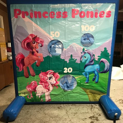 Princess Ponies Toss Game