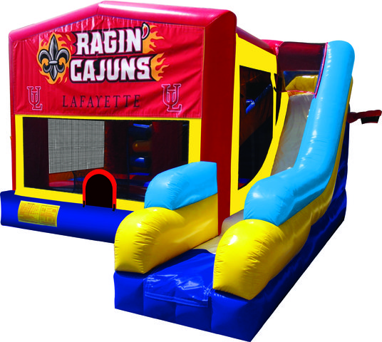 Ragin' Cajuns 7N1 Inflatable Combo Fun Jump