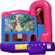 Snow White 4N1 Bounce House Combo (Pink)