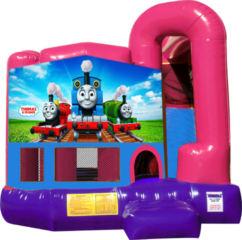 Thomas The Train 4N1 Bounce House Combo (Pink)