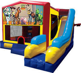 Toy Story 7N1 Bounce & Slide Combo