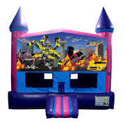 Transformers Fun Jump (Pink) with Basketball Goal