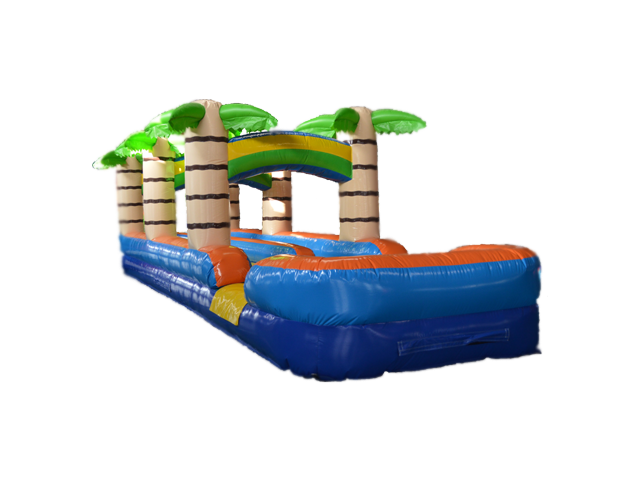 A Tropical Double Lane Slip n Slide