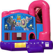 Toy Story 4N1 Bounce House Combo (Pink)