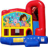 Dora the Explorer 4N1 Inflatable Combo