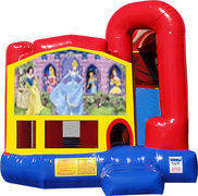Disney Princess 4N1 Inflatable Combo Fun Jump