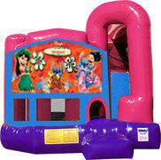 Lilo & Stitch 4N1 Inflatable Combo Fun Jump (Pink)