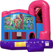 Winnie The Pooh 4N1 Bounce House Combo (Pink)