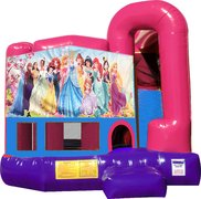 All Disney Princesses 4N1 Bounce House Combo (Pink)
