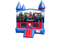 Avengers Bounce House with Basketball Goal