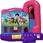 Paw Patrol 4N1 Inflatable Combo Fun Jump (Pink)