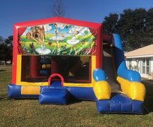 Ballerina 7N1 Inflatable Combo Fun Jump