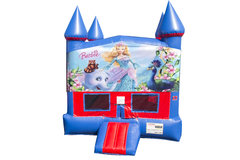 Barbie Bounce House with Basketball Goal