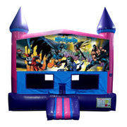 Batman Fun Jump (Pink) with Basketball Goal
