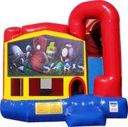 Big Sports 4N1 Inflatable Combo Fun Jump