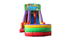 Bubble Guppies 18' Double Lane Dry Slide
