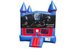 Casper Bounce House with Basketball Goal