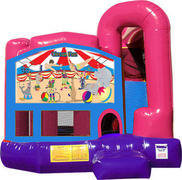Circus 4N1 Bounce House Combo (Pink)