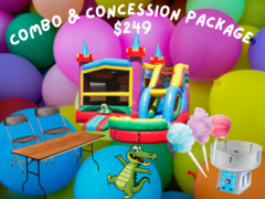 Combo Jumper Party Package