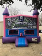 Dallas Cowboys Fun Jump With Basketball Goal (Pink)