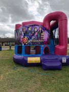 Disney Descendants 4N1 Bounce House Combo (Pink)