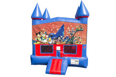 Disney Character Bounce House with Basketball Goal