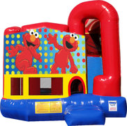 Elmo 4N1 Inflatable Combo