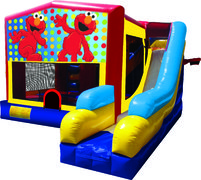 Elmo 7N1 Inflatable Combo Fun Jump