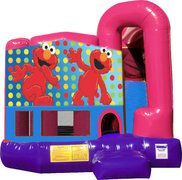 Elmo 4N1 Bounce House Combo (Pink)