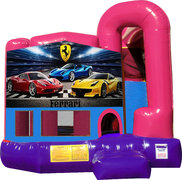 Ferrari 4N1 Inflatable Combo Fun Jump (Pink)