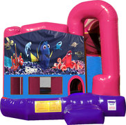 Finding Dory 4N1 Bounce House Combo (Pink)