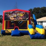 Goosebumps 7N1 Inflatable Combo Fun Jump
