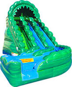 20' Green Machine Wild Rapids Water Slide
